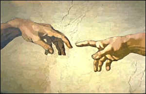 Michelangelo__Adams_Hand